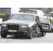 Paul Pogba And Memphis Depay Rides Rolls Royce Worth &163