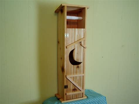 toilet paper holder wood handmade cedar wood outhouse toilet tissue paper holder ebay