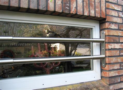 Einbruchschutz Kellerfenster Stange by Rollstabsicherung Rs Va