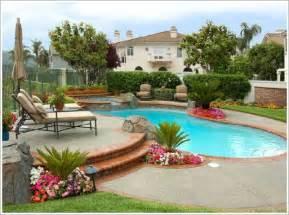 plants around a pool area pool landscape ideas
