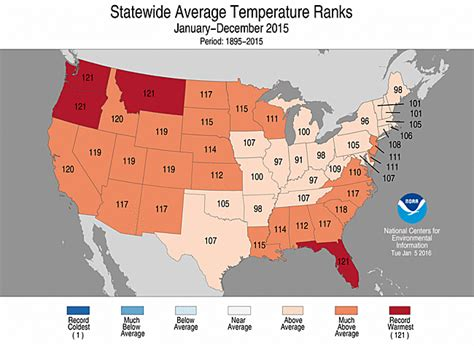 average december temperature us map national climate report annual 2015 state of the