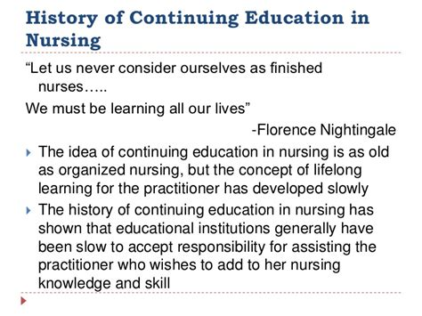 Nursing Continuing Education Detox by Continuing Education In Nursing