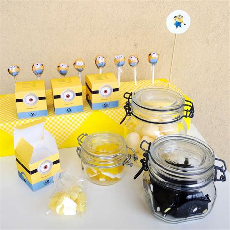 Minion Baby Shower Decorations by Despicable Me Minions Baby Shower Ideas Photo 2
