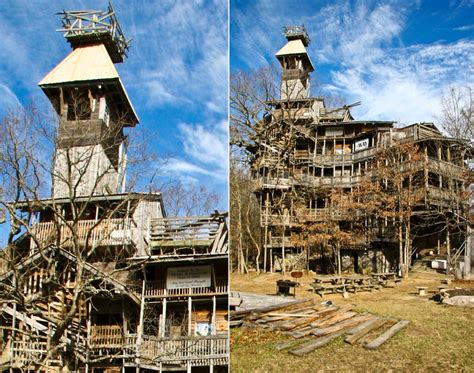 worlds largest house biggest treehouse in the world tennessee photos world s craziest homes ny daily