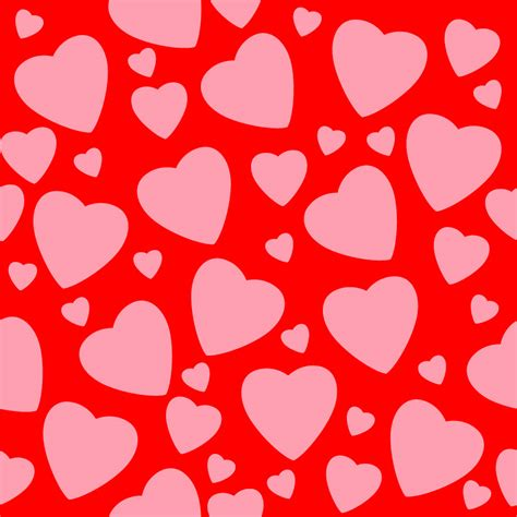 seamless pattern with hearts seamless heart backgrounds vector tiles