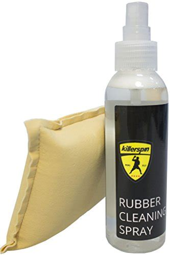 rubber st cleaner killerspin table tennis rubber cleaning spray kit