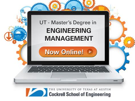masters degree in engineering ut s cockrell school of engineering proudly announces the launch of its engineering management ms