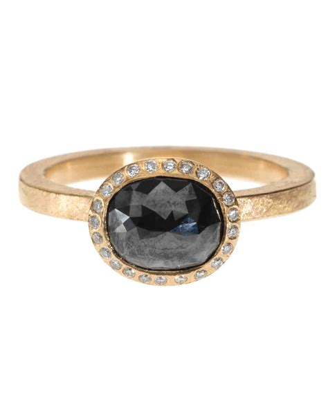 the new lbd the black engagement ring