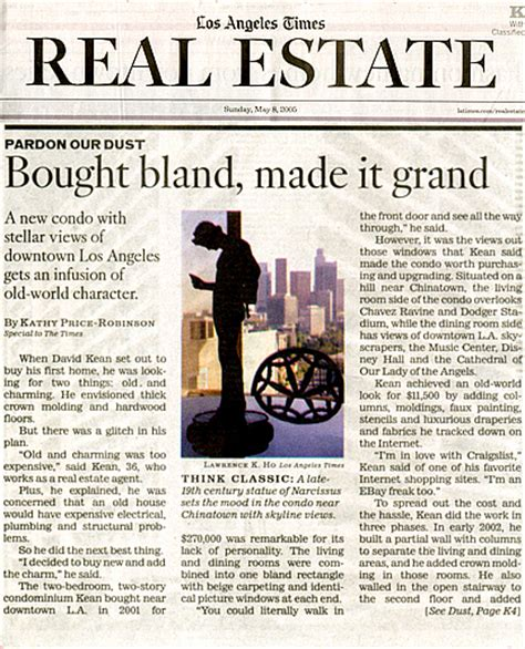 la times image section los angeles times real estate information properties for