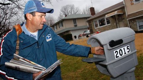 does the mailman come on file photo u s postal service carrier comly carries