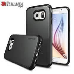 Rearth Ringke Max Samsung Galaxy S6 Flat Dual Layer Original rearth ringke max samsung galaxy s6 heavy duty black