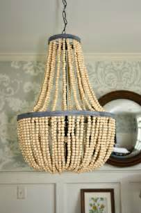 Bead Chandelier Diy My Sweet Diy Beaded Chandeliers