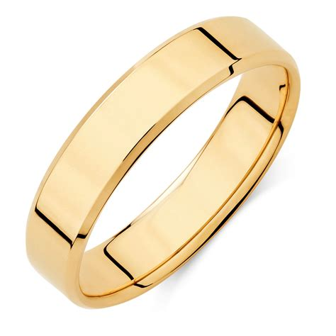 s wedding band in 10kt yellow gold