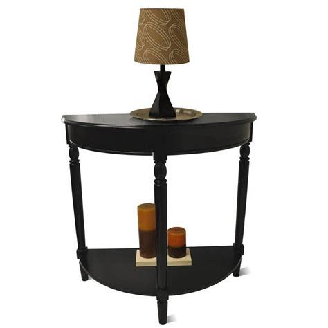 Black Foyer Table Entryway Table Black 6042182bl