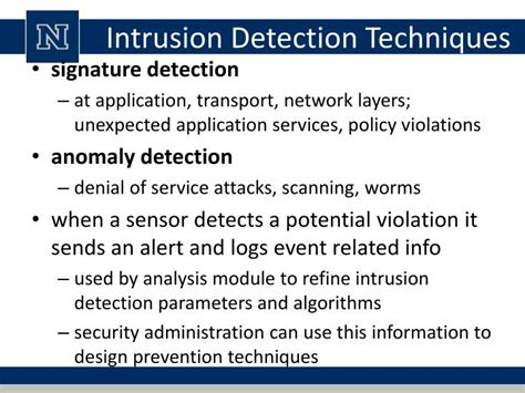 anomaly detection principles and algorithms terrorism security and computation books ppt lecture 13 intrusion detection powerpoint
