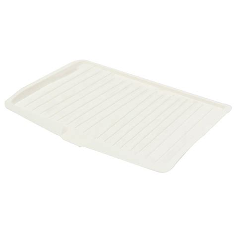 Plastic Dish Drainer Drip Tray Plate Cutlery Rack Kitchen Kitchen Sink Drainer Trays