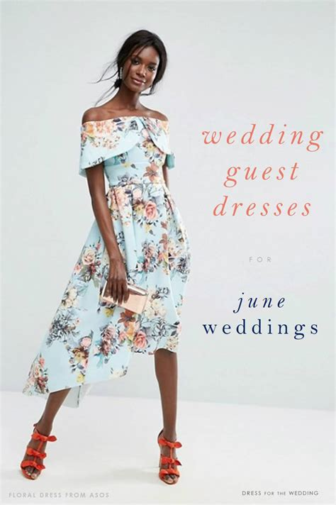 Wedding Attire For Guests 2017 20 on trend dresses for june 2017 wedding guests dress