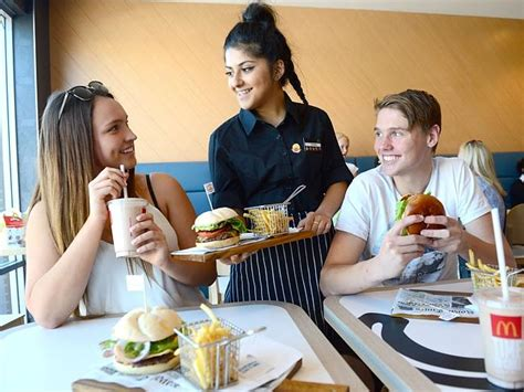 Table Service by Mcdonalds At Fosse Park Becomes One Of The To Trial