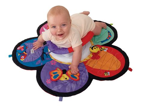 Tummy Time Mats For Newborns by Lamaze Spin Explore Garden Baby Child Tummy Time