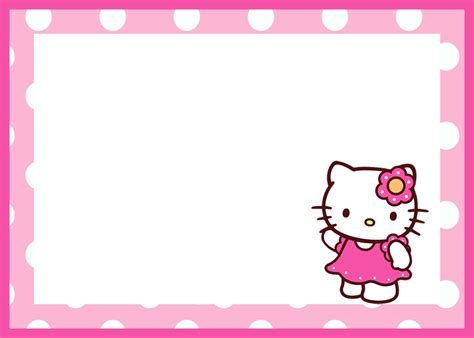 hello kitty birthday invitation template invitations online