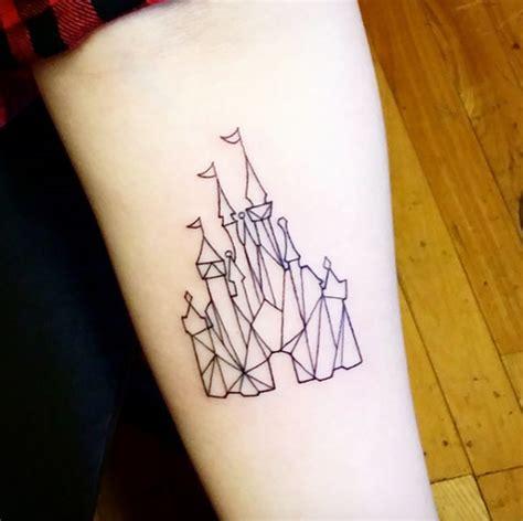 33 exquisite disney castle tattoo designs tattooblend
