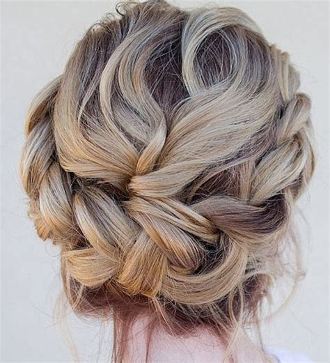 prom hairstyles for medium length hair with braids braided updos 2015
