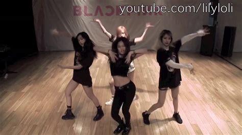 blackpink boombayah dance blackpink dance boombayah 2x faster youtube