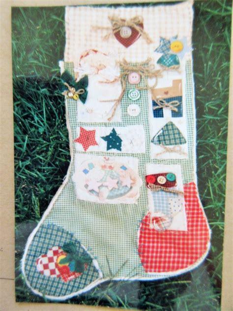 pattern for primitive christmas stocking 17 best images about vintage craft patterns on pinterest