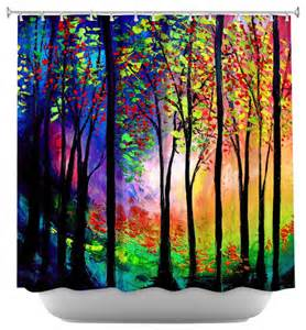 artistic shower curtains shower curtain artistic autumn ii contemporary