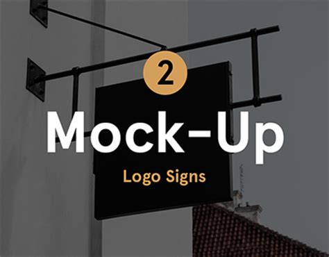 coffee shop signage design restaurant coffee signs mock up on behance