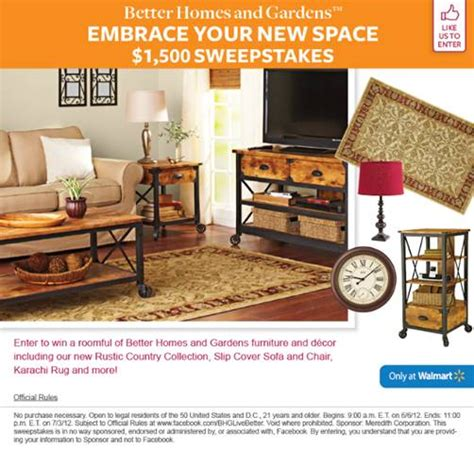Better Home And Garden Sweepstakes - enter to win better homes and gardens 1 500 sweepstakes addictedtosaving com