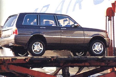 bentley dominator bentley s first suv built in 1994 for a sultan