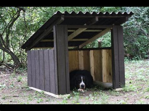 how to build a large dog house plans diy dog house plans for large dogs youtube