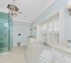 light blue bathroom walls classic shingle style home for sale home bunch