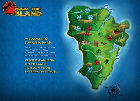 jurassic park map tour the island park pedia jurassic park dinosaurs stephen spielberg