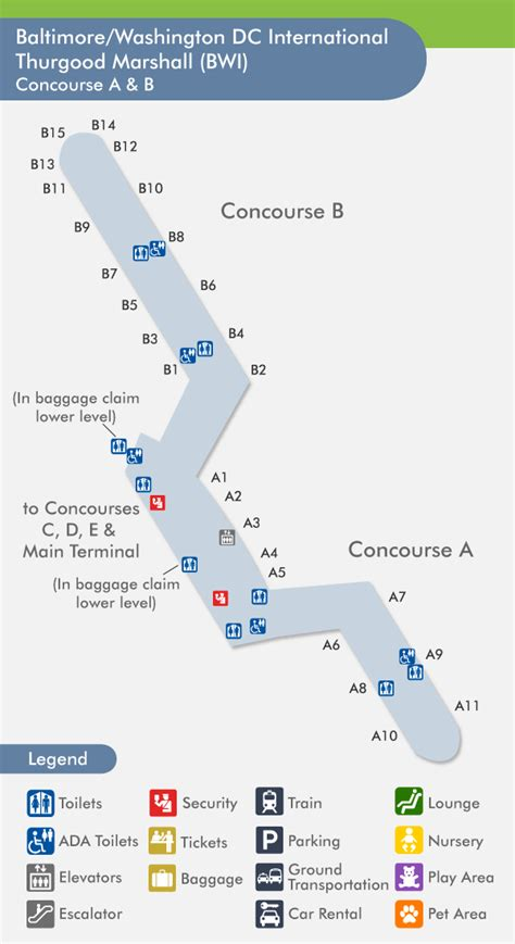 bwi airport map bwi airport map 2015 best auto reviews