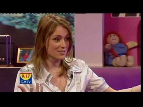Toyota Shirt Pops Open Gmtv Keeley Hawes Pops Out Of Blouse While Talking