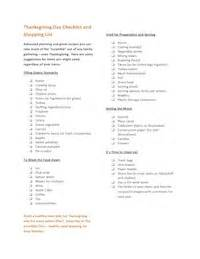 thanksgiving dinner grocery list thanksgiving shopping list images amp pictures becuo