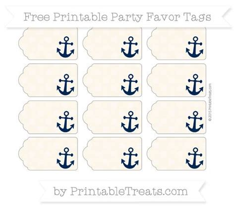 printable nautical labels free antique white dotted pattern nautical party favor