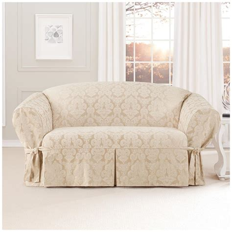 sure fit slipcovers catalog sure fit 174 middleton loveseat slipcover 581236 furniture