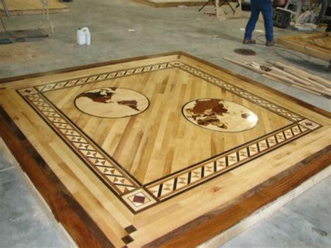 wood floor inlays medallions Milwaukee 4   My Affordable
