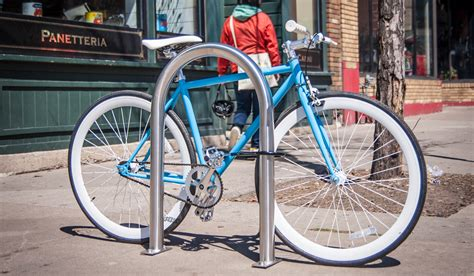 Duro Bike Rack by Dero Bike Racks Habitat Systems