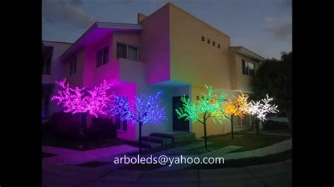 arboles con luces leds para decoraci 243 n eventos fiestas