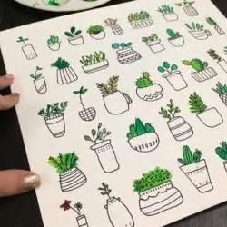 doodle plants succulent doodles doodles doodles bullet