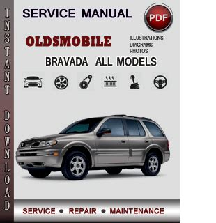 oldsmobile bravada service repair manual download info service manuals