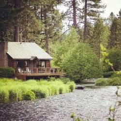cabin by the river in the new world