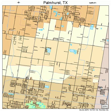 map of hurst texas palmhurst texas map 4854780