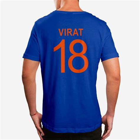 design jersey online india buy virat kohli india jersey royal blue tshirt online