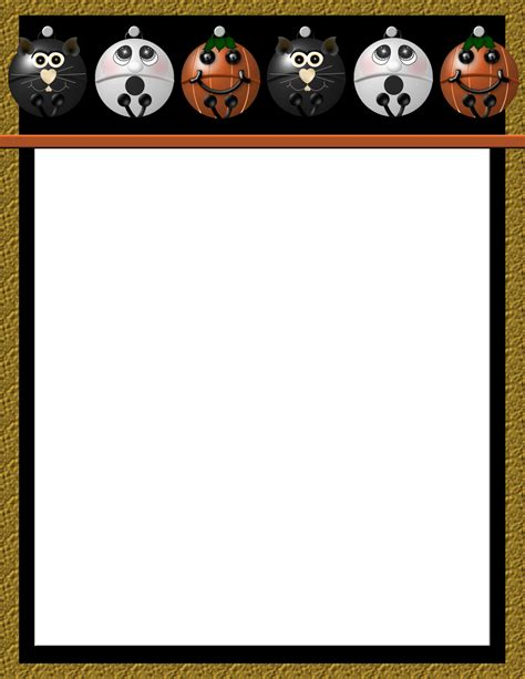 halloween 2 free stationery com template downloads