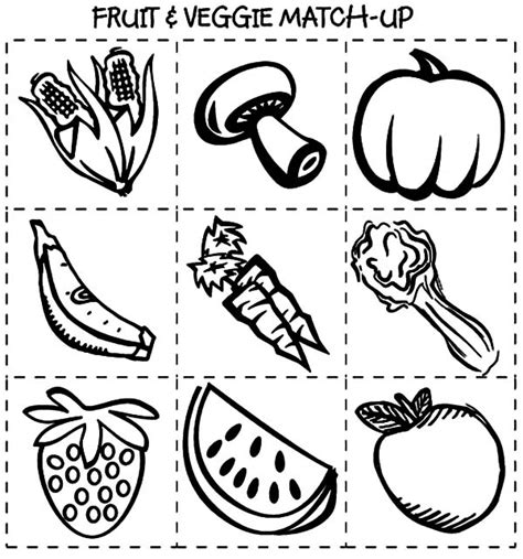 pin healthealthy food colouring pages on pinterest